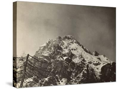 World War I: The Top of the Antelao--Stretched Canvas Print