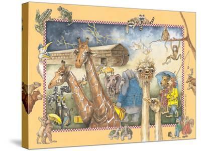 Noah's Ark-Anita Phillips-Stretched Canvas Print