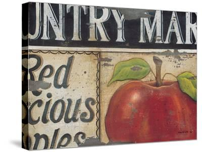 Country Market-Kim Lewis-Stretched Canvas Print