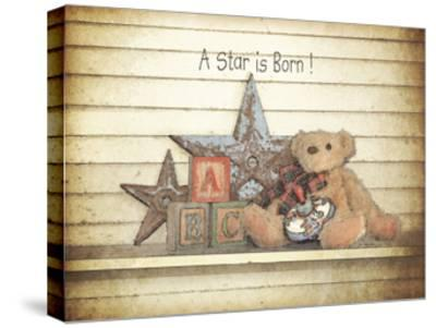 A Star Is Born-Jo Moulton-Stretched Canvas Print