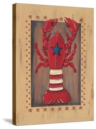 Lobster-Jo Moulton-Stretched Canvas Print