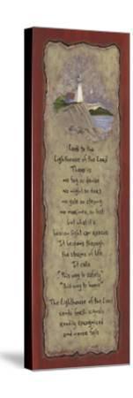 Lighthouse-Karen Tribett-Stretched Canvas Print