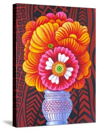 Marigolds, 2014-Jane Tattersfield-Stretched Canvas Print