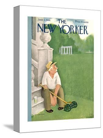 The New Yorker Cover - June 3, 1944-William Cotton-Stretched Canvas Print