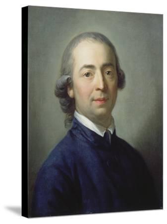 Portrait of Johann Gottfried Von Herder (1744-1803), 1785-Anton Graff-Stretched Canvas Print