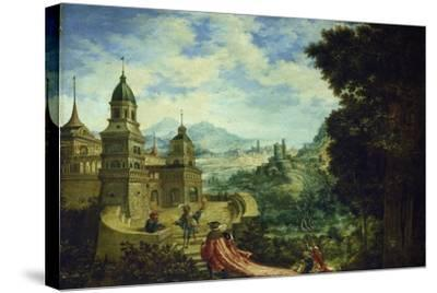 Allegory, the Beggar Is Sitting on the Train of Arrogance, 1531-Albrecht Altdorfer-Stretched Canvas Print