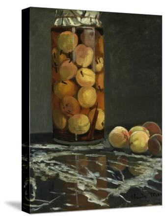 The Peach Glass, 1866-Claude Monet-Stretched Canvas Print