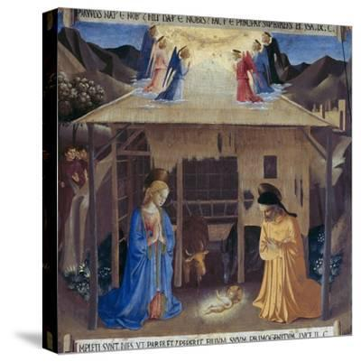 Nativity-Fra Angelico-Stretched Canvas Print
