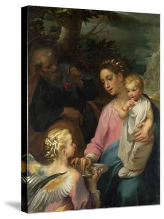 Rest on the Flight to Egypt-Francesco Vanni-Stretched Canvas Print