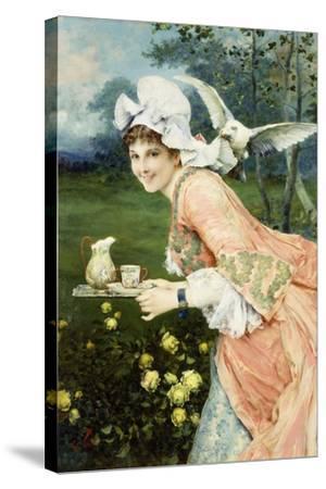 Tea Time Tease-Francesco Vinea-Stretched Canvas Print