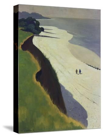 La Falaise De La Greve Blanche, 1913-Felix Vallotton-Stretched Canvas Print