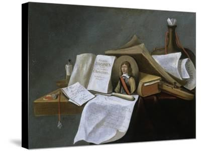 Vanitas Still-Life-Pietro da Cortona-Stretched Canvas Print