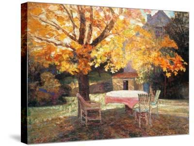 Autumn Garden-Victor Charreton-Stretched Canvas Print