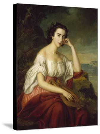 Sappho-Soma Orlai-Petrich-Stretched Canvas Print