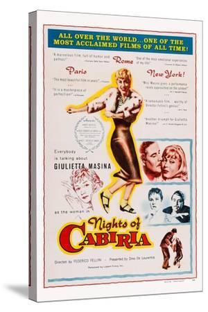 Nights of Cabiria, 1957--Stretched Canvas Print