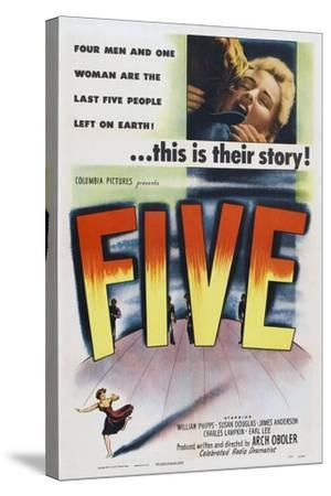 Five, 1951--Stretched Canvas Print
