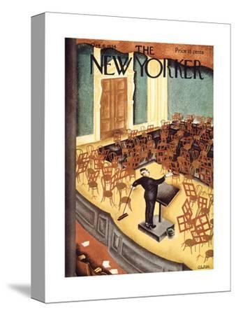 The New Yorker Cover - October 6, 1934-Charles Alston-Stretched Canvas Print