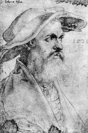 Eobanus Hesse, 1526-Albrecht Durer-Stretched Canvas Print