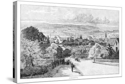 Parramatta, New South Wales, Australia, 1886-Albert Henry Fullwood-Stretched Canvas Print
