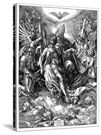 The Trinity, 1511-Albrecht Durer-Stretched Canvas Print