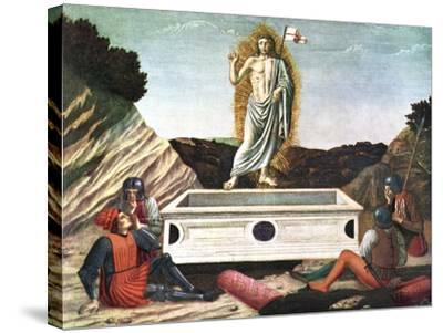 The Resurrection, Mid 15th Century-Andrea Del Castagno-Stretched Canvas Print