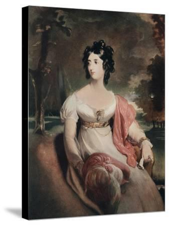 Lady Peel, Early 19th Century-C Coppier-Stretched Canvas Print
