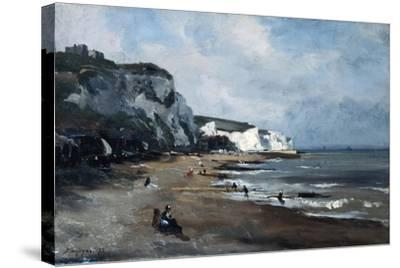 Dover, 1875-Emmanuel Lansyer-Stretched Canvas Print