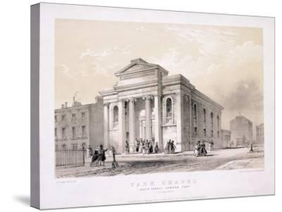 Park Chapel, Camden Town, London, C1850-Edwin Thomas Dolby-Stretched Canvas Print