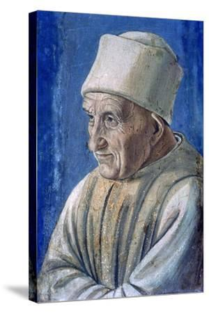 Portrait of an Old Man, 1485-Filippino Lippi-Stretched Canvas Print