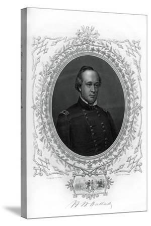 General Henry Wager Halleck, Senior Union Army Commander, 1862-1867-G Stodart-Stretched Canvas Print