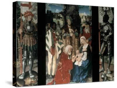 Adoration of the Magi, 1507-Hans Baldung-Stretched Canvas Print