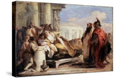 The Death of Dido, 1757-1760-Giovanni Battista Tiepolo-Stretched Canvas Print