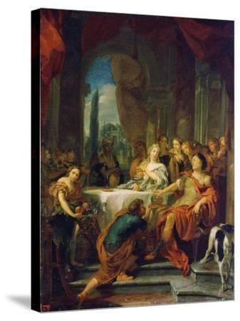 Antony and Cleopatra, 17th or Early 18th Century-Gerard De Lairesse-Stretched Canvas Print