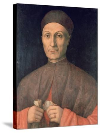 Portrait of a Scholar, C1450-1507-Giovanni Bellini-Stretched Canvas Print