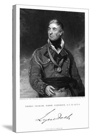Thomas Graham, Baron Lynedoch (1748-184), British Soldier, 1831-Henry Meyer-Stretched Canvas Print