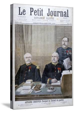 The Dreyfus Affair, 1898-Henri Meyer-Stretched Canvas Print