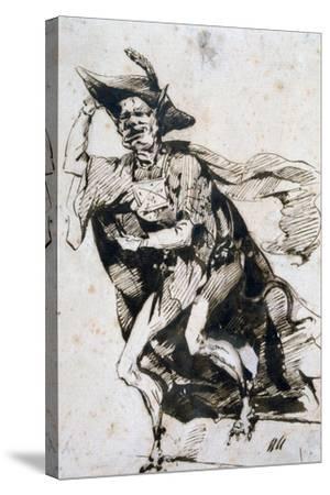 Basile, C1825-1877-Henry Bonaventure Monnier-Stretched Canvas Print