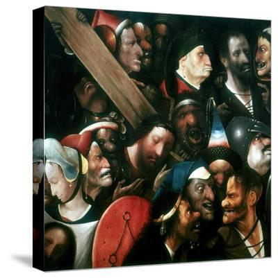 Carrying the Cross, C1480-1516-Hieronymus Bosch-Stretched Canvas Print