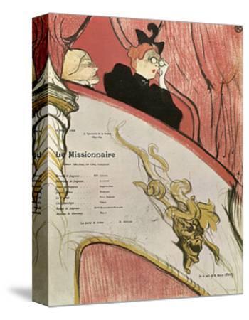 Le Missionaire, 1894-Henri de Toulouse-Lautrec-Stretched Canvas Print