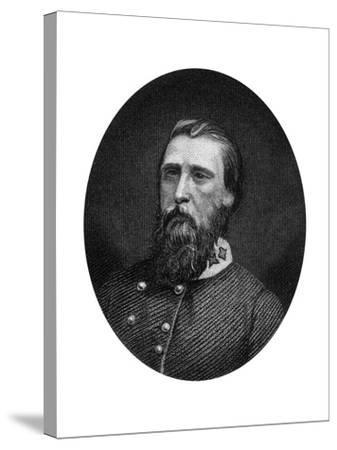 John Bell Hood, Confederate General, 1862-1867-J Rogers-Stretched Canvas Print