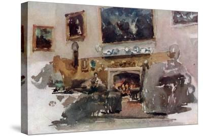 Moreby Hall, C1883-James Abbott McNeill Whistler-Stretched Canvas Print