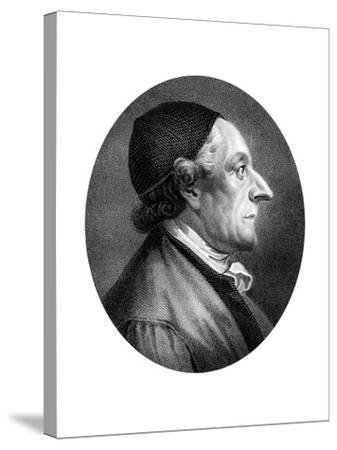 Johann Kaspar Lavater, Swiss Physiognomist and Theologian-J Chapman-Stretched Canvas Print