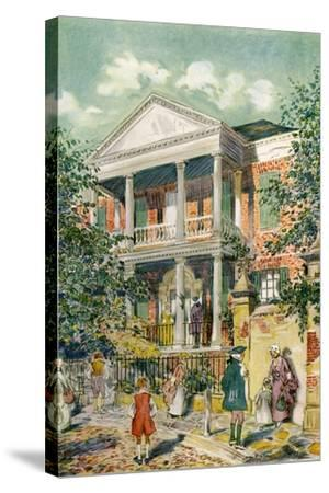 Pringle House, Charleston, South Carolina, USA, C18th Century-James Preston-Stretched Canvas Print