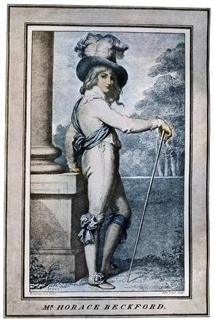 Horace Beckford, 18th Century-John Conde-Stretched Canvas Print
