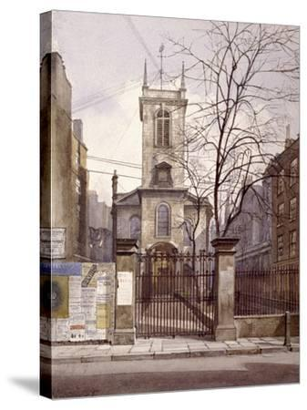 St Olave Jewry, London, 1887-John Crowther-Stretched Canvas Print