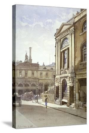 Watermen's and Lightermen's Hall, St Mary at Hill, City of London, 1888-John Crowther-Stretched Canvas Print