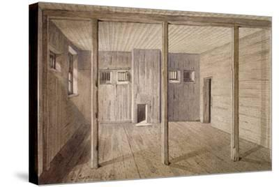 Interior View of White Lyon Prison, Borough High Street, Southwark, London, 1887-John Crowther-Stretched Canvas Print