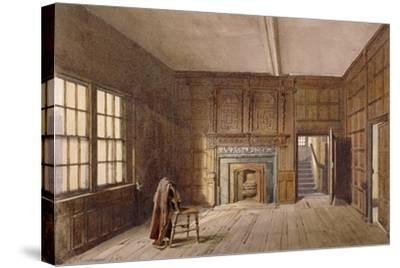 Interior View of Sir John Spencer's Room in Canonbury House, Islington, London, 1887-John Crowther-Stretched Canvas Print