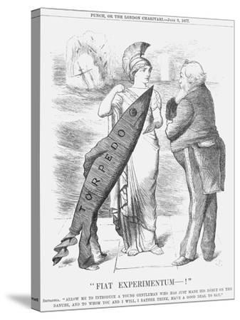 Fiat Experimentum-!, 1877-Joseph Swain-Stretched Canvas Print