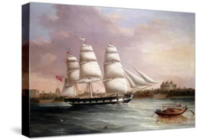 John Wood Approaching Bombay, C1850-Joseph Heard-Stretched Canvas Print